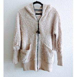 Billabong Zip Up Hooded Sweater Size Medium